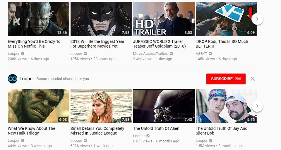 youtube on fire movies