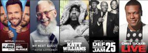 Netflix Comedy specials